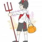 ハロウィン かんたん手作り衣装の作り方 悪魔編