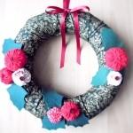 クリスマスリースの作り方 布でかんたん手作りしよう!