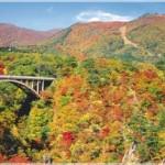 鳴子峡の紅葉2013 見ごろ時期とおすすめスポット