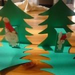 クリスマスカードを手作りしよう!子供でも簡単に作れる飛び出すカードの作り方