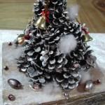 クリスマスツリーの作り方☆松ぼっくりや木の枝がおしゃれなツリーに変身!