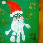 今年のクリスマスカードは手作りで!子供の手形・千代紙…意外な素材で、世界で一つだけのカードができちゃう!