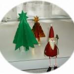 クリスマスツリーを折り紙で作ろう!立体・平面いろいろな折り方