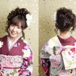 成人式の髪型2018★華やかアップスタイル画像集