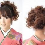 成人式の髪型2018★ショートカット向け!振袖に似合う華やかスタイル画像集