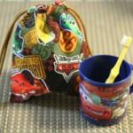 幼稚園・保育園の入園準備をしよう!手作り巾着袋の作り方【1】基本の作り方からキャラ物アレンジまで!