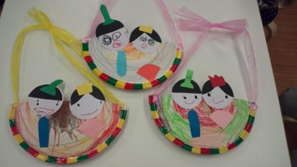 ひな祭り工作★子供と作ろう ... : 折り紙 工作 幼児 : 幼児