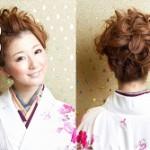 卒業式の袴に合う髪型★アップスタイルならコレ!おすすめ画像集