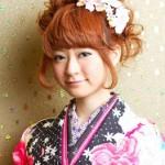 卒業式の袴に合う髪型★ミディアムヘアのおすすめアレンジ画像集
