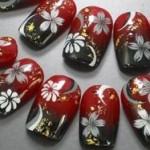 大学・短大の卒業式の袴に合うネイル★自分でできる!桜柄の可愛いデザイン画像集