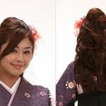 卒業式の袴に合う髪型★ハーフアップのおすすめ画像集