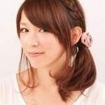 中学生向け卒業式の髪型★人気の編み込みヘアカタログ