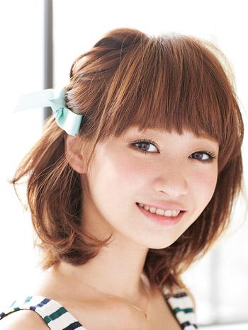 髪型カタログ ミディアム