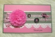 母の日の手作りカードの作り方★ポップアップでゴージャスなカード作り