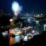 大阪の天神祭とは?2014年は船渡御の一般参加もOK!主な日程と見どころ
