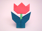 父の日のプレゼントに、折り紙のお花を手作りしよう!子どもにも折れる簡単な作り方