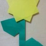 折り紙でひまわりを作ろう☆簡単な折り方はコレ!