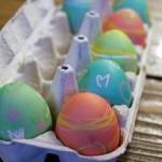 ゆで卵のイースターエッグの作り方☆食紅を使うので後で食べてもOK!