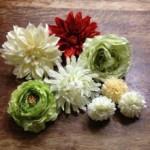 浴衣に合う手作り髪飾りの作り方★100均の造花で、こんなに簡単に可愛くできちゃう!