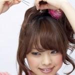 浴衣に合う髪型★簡単!ミディアムヘアアレンジ集