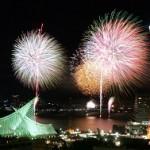 みなとこうべ海上花火大会2014の有料席情報と無料穴場スポットは?花火がよく見えるホテルはここ!