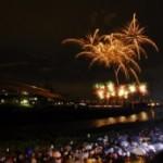 猪名川花火大会2014の日程と穴場スポット、場所取りの解禁時間は?