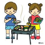 自作バーベキューコンロの作り方★レンガを積むだけで簡単作成!