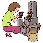 お盆のお供え物の選び方!花やお菓子、果物は何を供えるの?