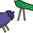 A お盆 お供え物 きゅうりの馬となすの牛_html_m21d15613