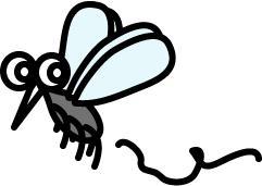 飛んでる蚊