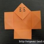 折り紙 やっこさんとはかまの折り方