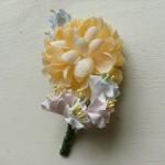 【入学式&卒業式向け母親の服装】造花でコサージュを作ってみよう Part.1