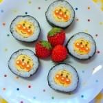 ひな祭りパーティー向けレシピ★アンパンマンのデコ巻き寿司