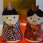 手作りひな祭り飾り★プリンカップと折り紙でお雛様を作ってみよう