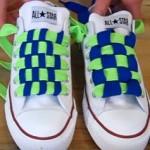 スニーカーのおしゃれな靴ひもの結び方3選