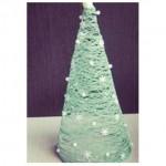 100均の材料が大変身☆クリスマスツリーの作り方