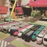 【子どもが夢中になる!100均ダイソーのおもちゃ】男の子にプチ電車シリーズがおすすめ!