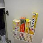 【新生活の収納アイディア】キッチンにあるラップをすっきりさせる方法