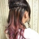 【ロングヘア編】インナーカラーで楽しめるおすすめのヘアアレンジ!part1