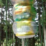 夏の風物詩の風鈴を簡単に手作りしてお部屋に飾ろう!